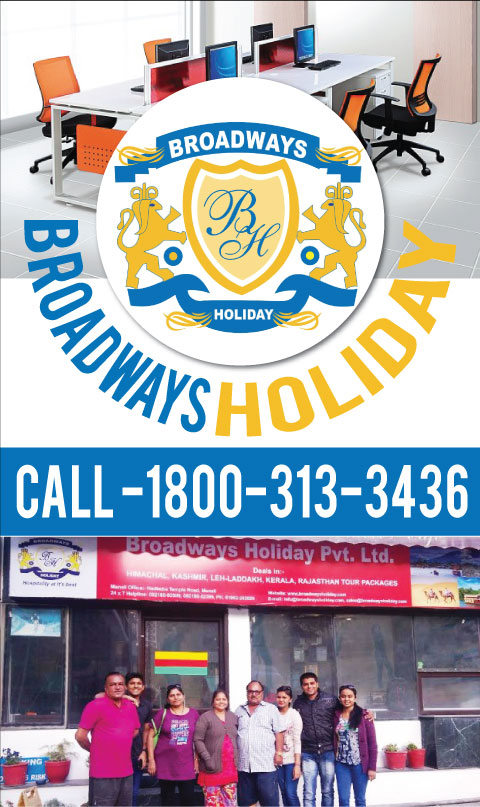 BROADWAYS HOLIDAY PVT. LTD. MANALI